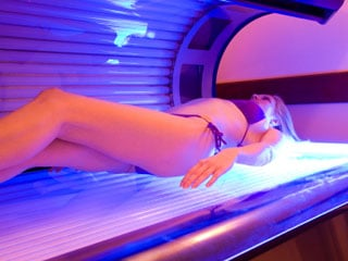 "While tanning beds can give users a ""golden bronze,"" it also gives its user a golden ticket to increased risks of skin cancer. (©iStockphoto.com)"